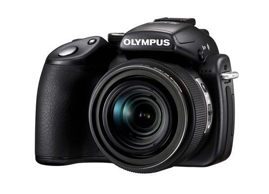 Olympus SP-570 UZ side