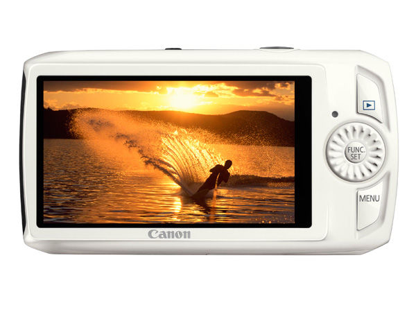 Canon IXUS 300 HS White Back