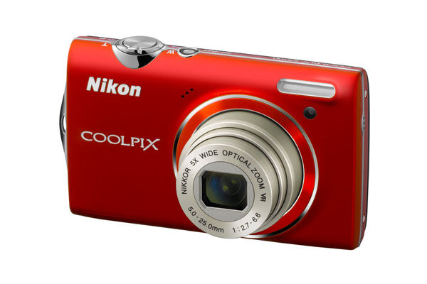 Nikon S5100 front red