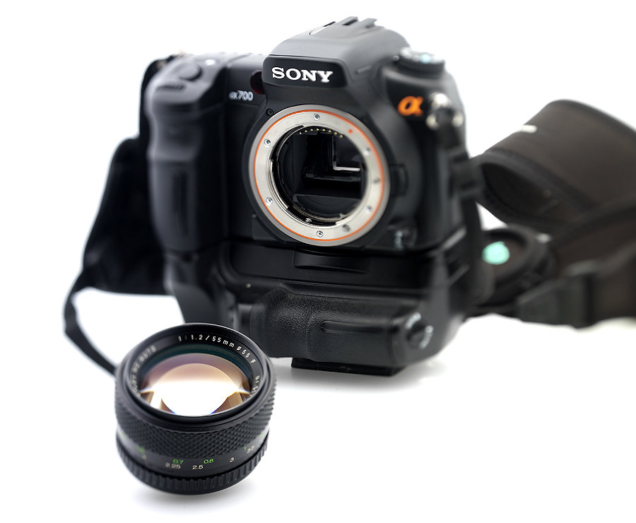 """ new project 55mm f1.2 """