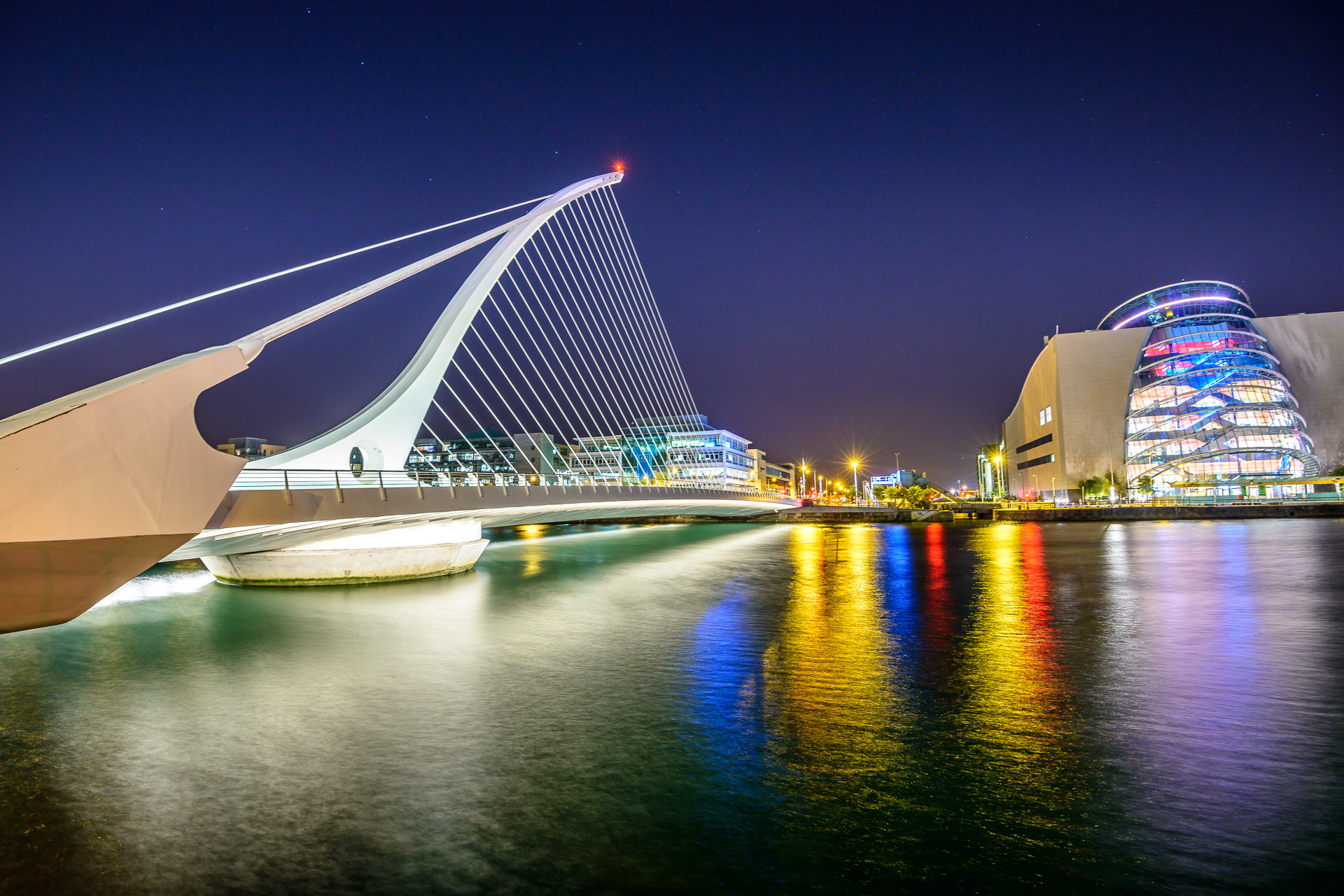 Samuel Beckett bridge / Dublin