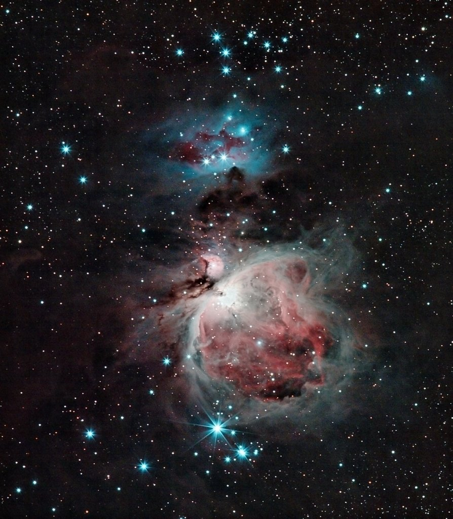 Colors of Orion